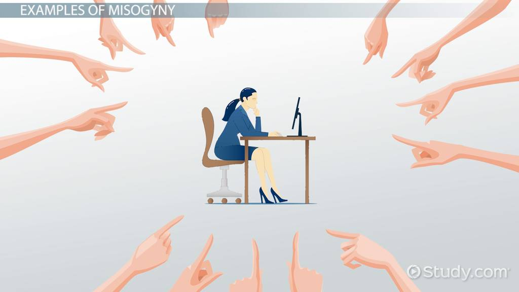 Misogyny Definition  Examples  Video  Lesson Transcript  Studycom