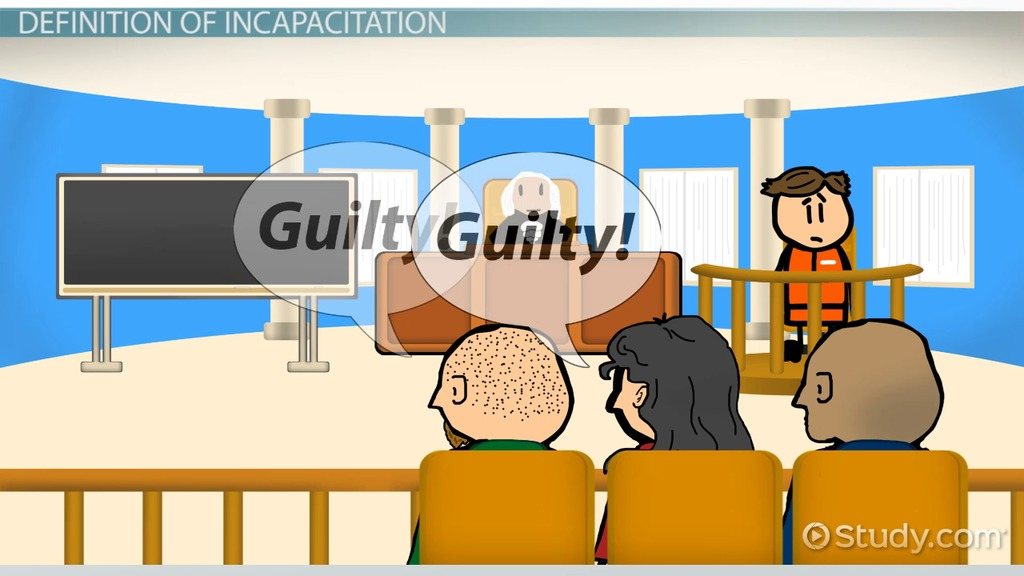Incapacitation In Criminal Justice Definition Theory