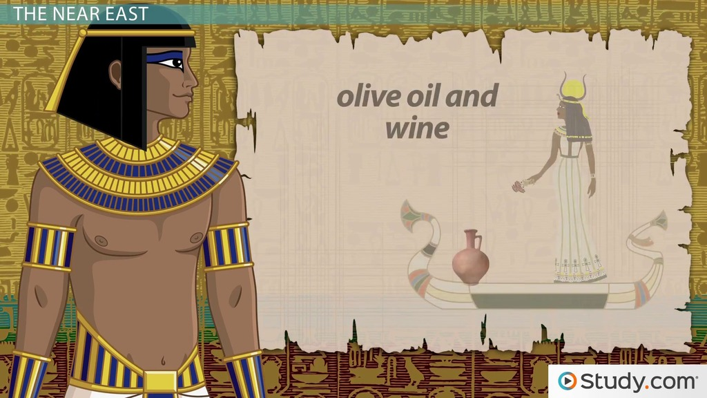 Egyptian Trade In The Eastern Mediterranean & Nile Valley