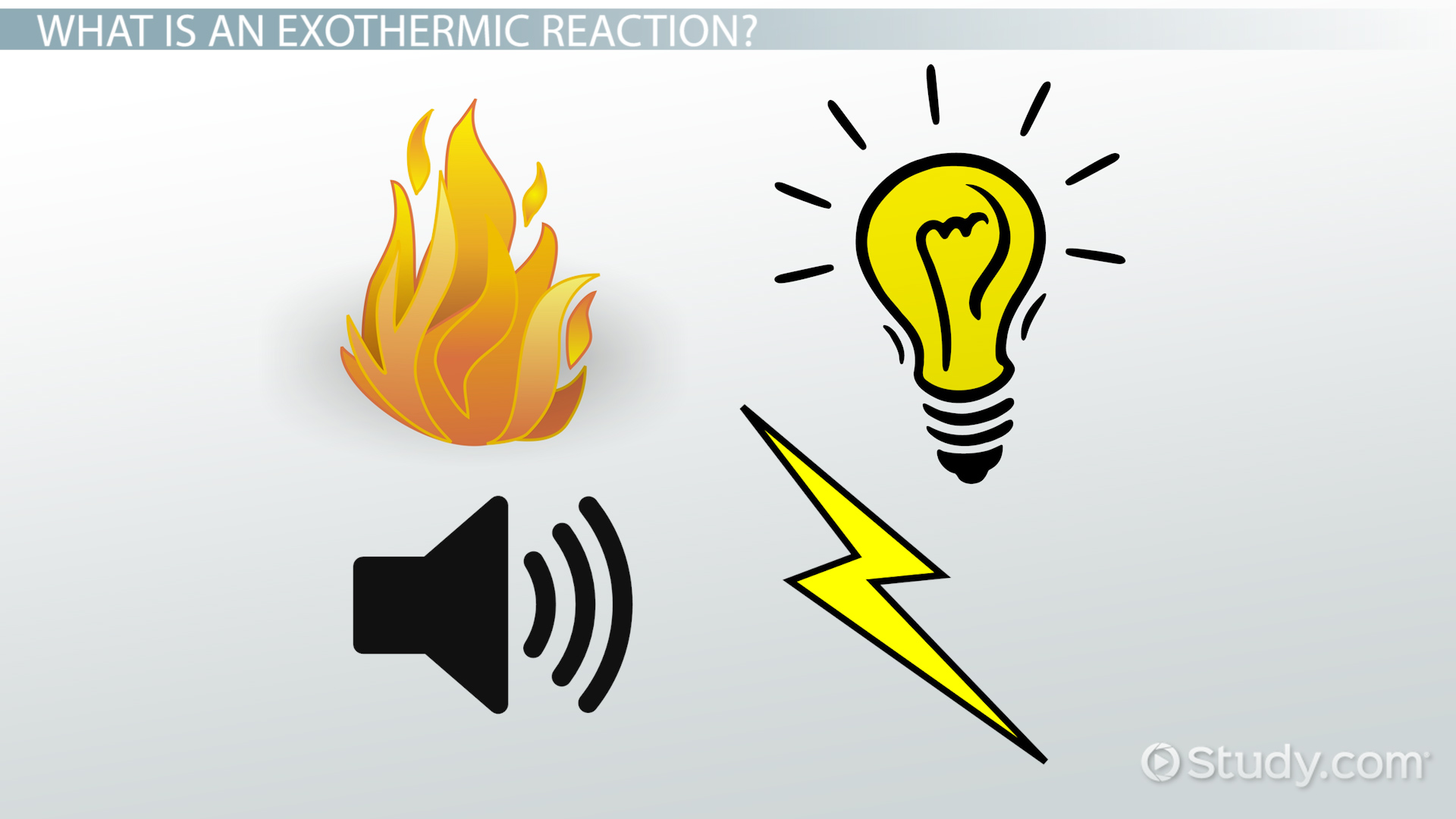 Exothermic Reaction Definition Amp Example Video With