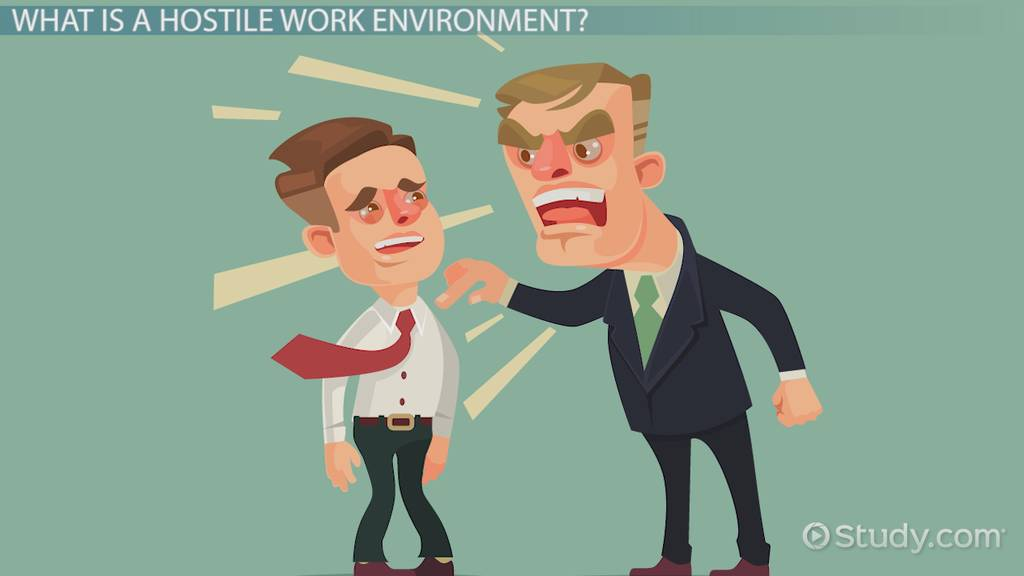 What Is A Hostile Work Environment? Definition Laws