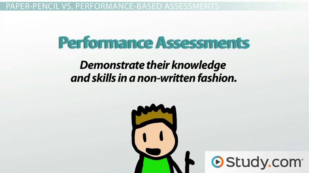 Forms Of Assessment Informal Formal Paper Pencil