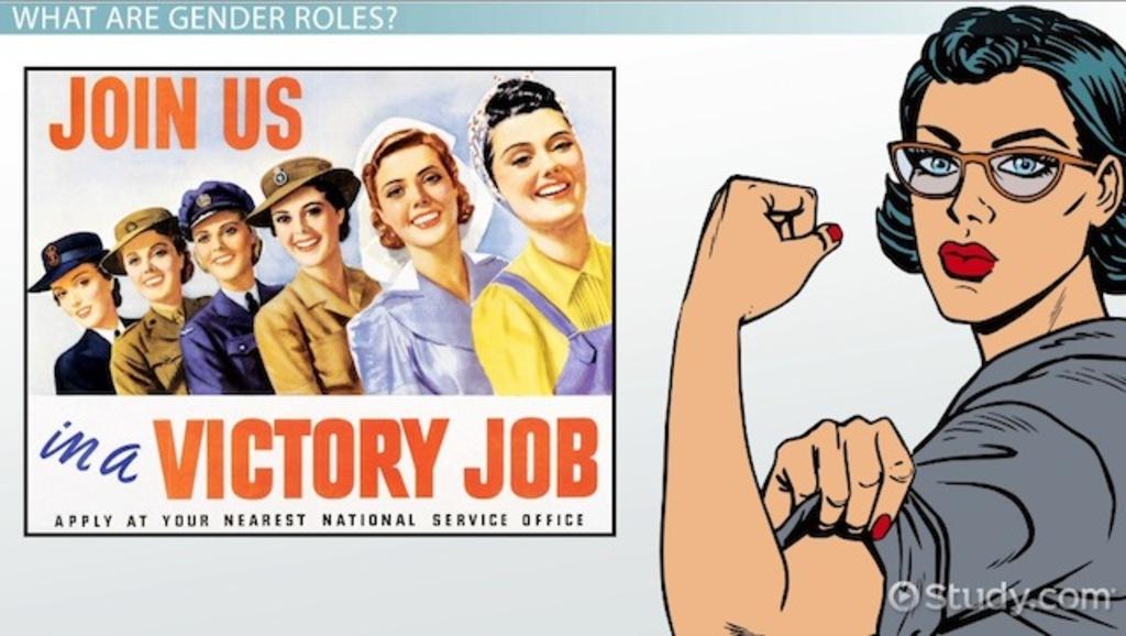 Gender Roles In 1950s America Video & Lesson Transcript