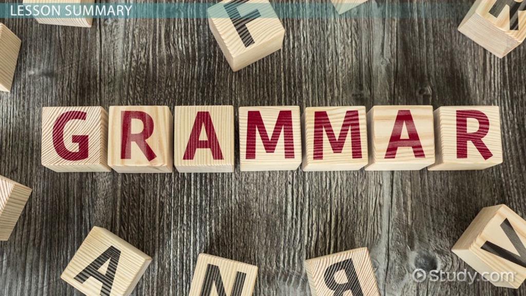 Grammatical Error Examples  Corrections  Video  Lesson Transcript  Studycom