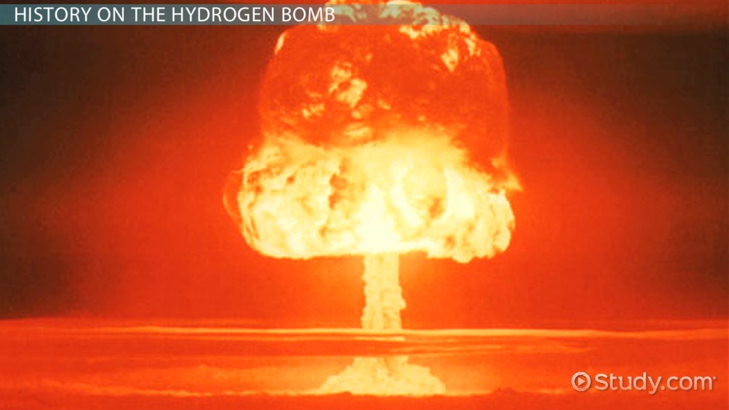 The Hydrogen Bomb Definition Explosion & Facts Video