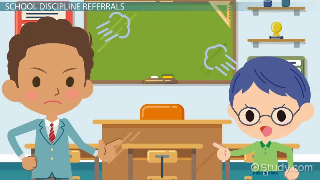 What Is A School Discipline Referral? Meaning & Examples