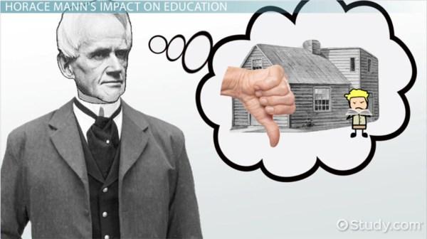 Horace Mann Education Reform Contributions Philosophy