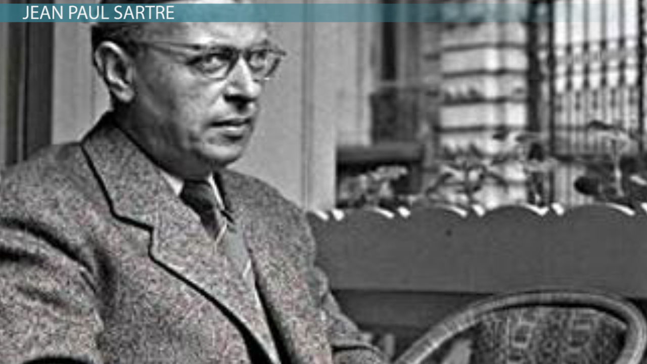 Jean Paul Sartre & Existentialism Video & Lesson