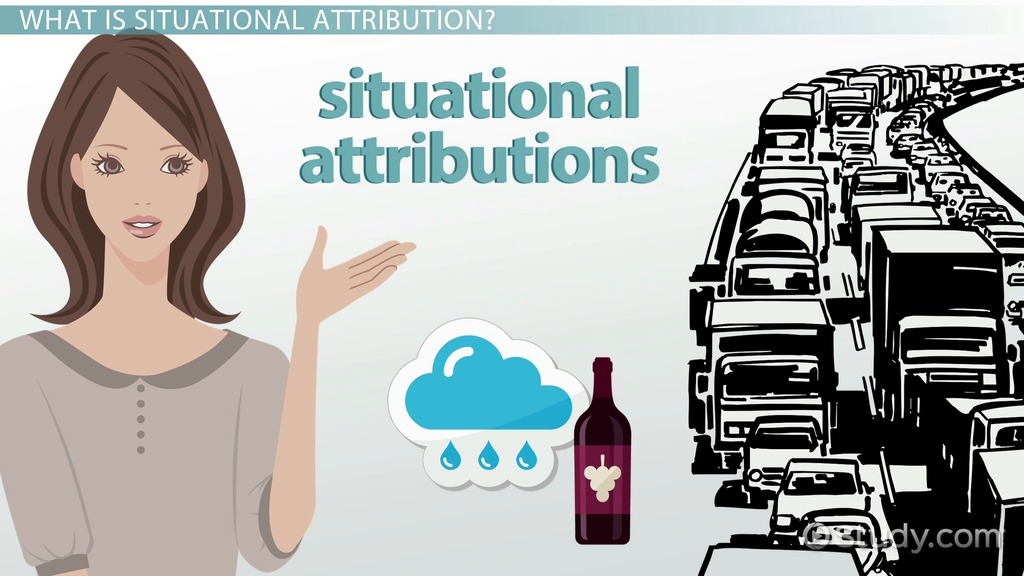 Situational Attribution Definition  Examples  Video  Lesson Transcript  Studycom