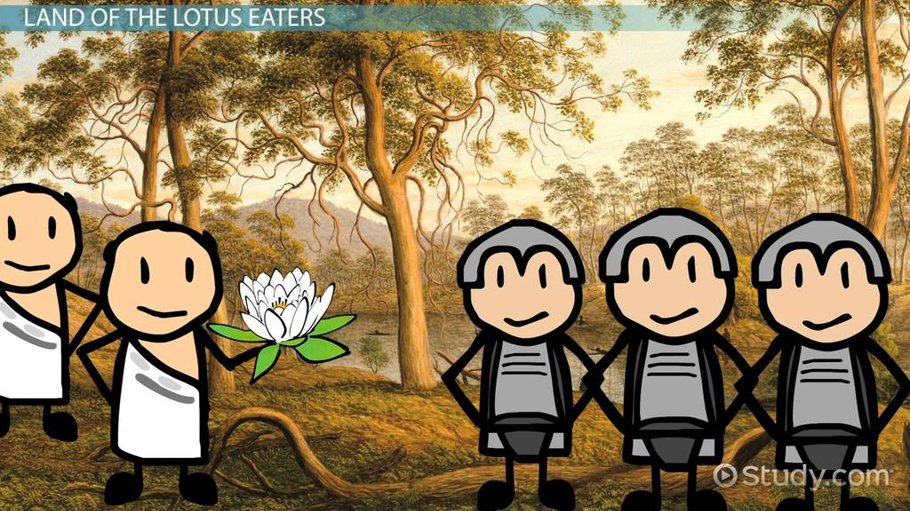 Land Of The Lotus Eaters In The Odyssey Video & Lesson Transcript