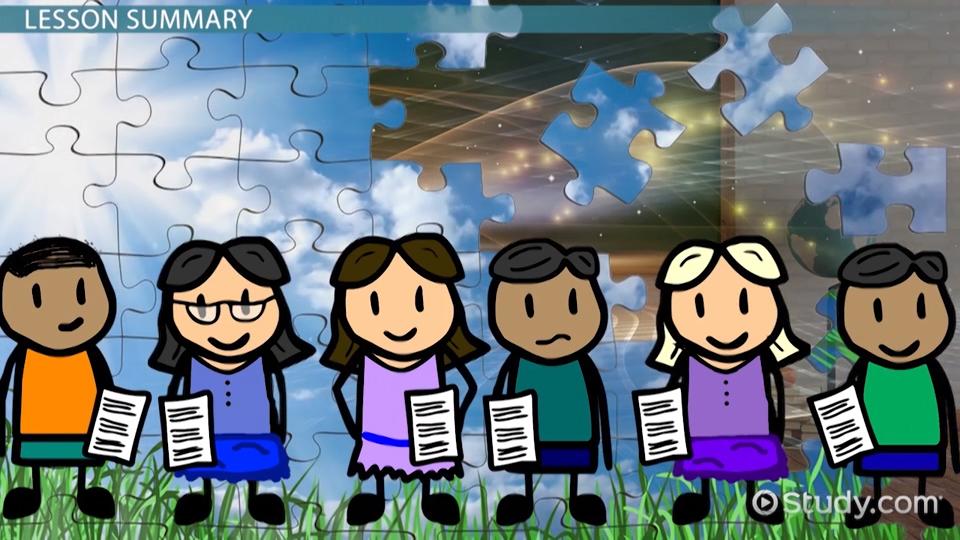 Jigsaw Activities Examples  Classroom Applications