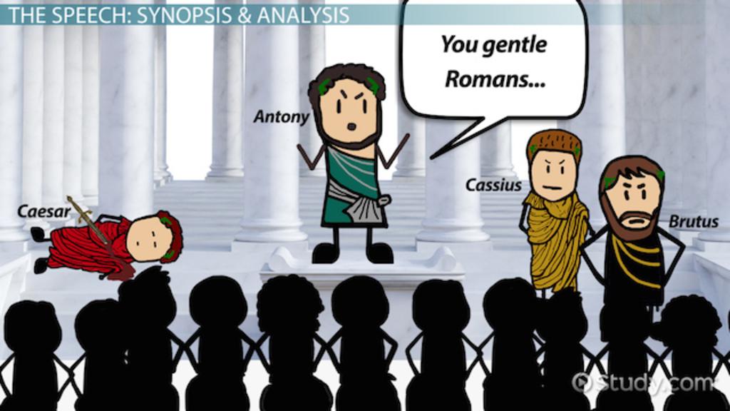 One Piece Quote Wallpaper Julius Caesar S Antony Speech Analysis Video Amp Lesson