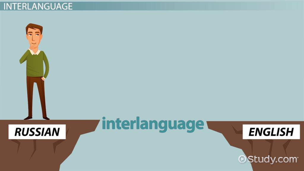 Interlanguage Definition Formation & Effects Video