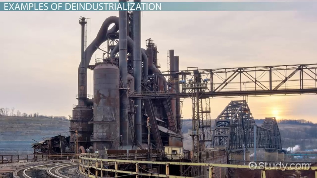 What Is Deindustrialization? Definition & Examples