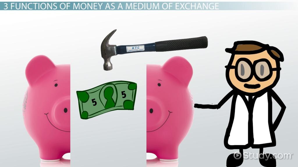 Medium Of Exchange In Economics Definition & Examples
