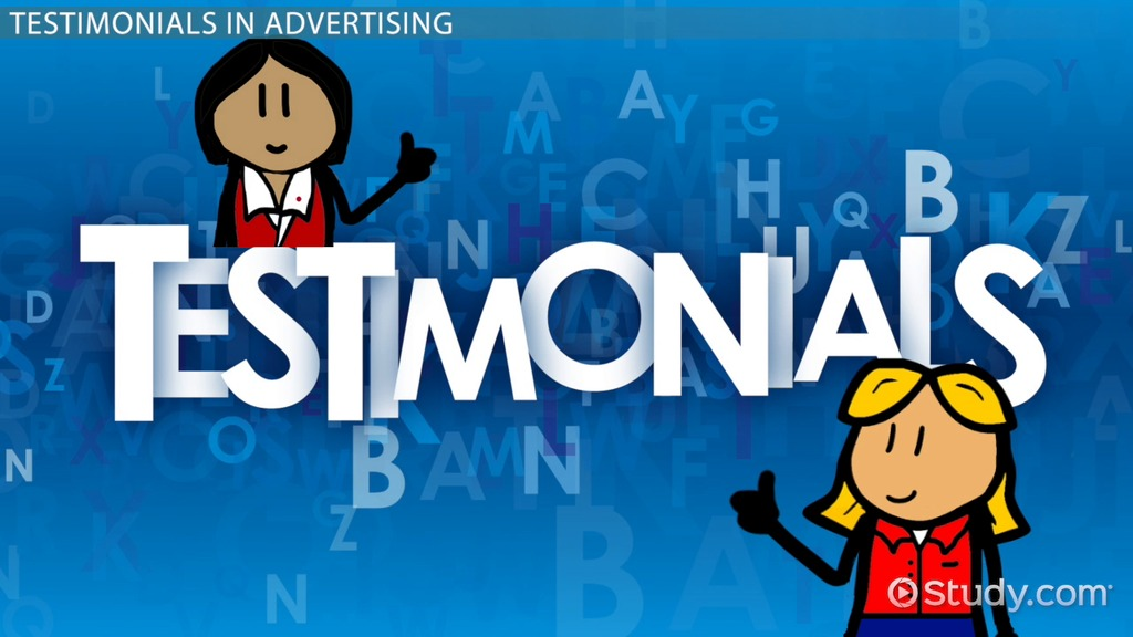 Testimonials In Advertising Definition & Examples Video