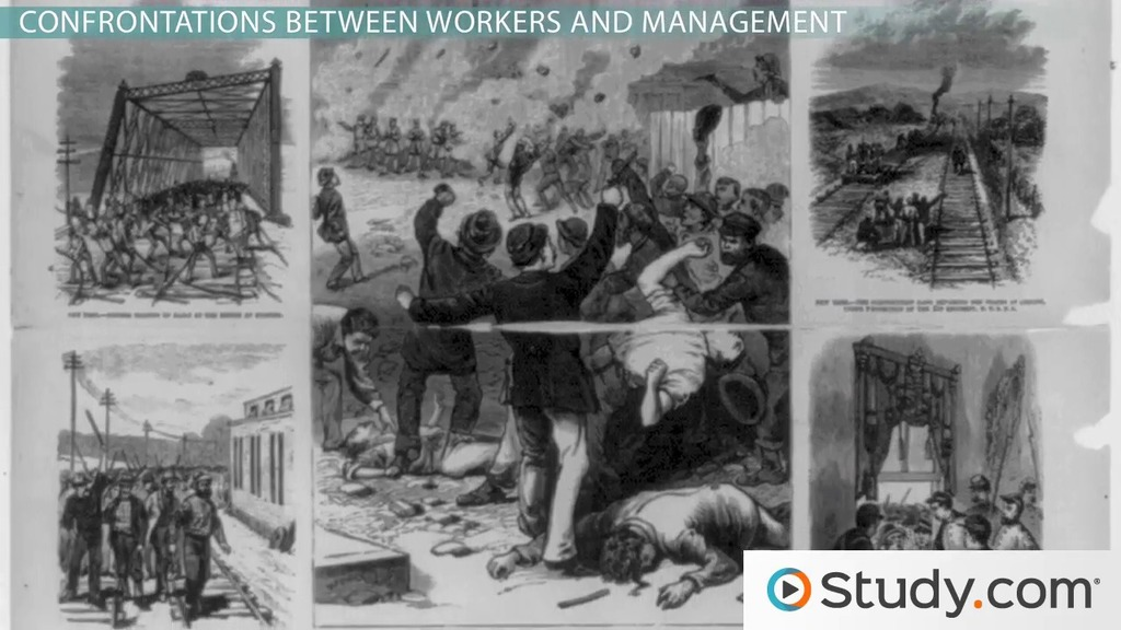 Labor Unions During The Second Industrial Revolution