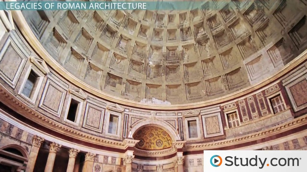 Legacies Of Roman Art & Architecture Video & Lesson