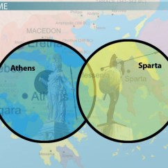 Athens And Sparta Venn Diagram 2003 Toyota Sequoia Parts  Full Hd Maps Locations Another World