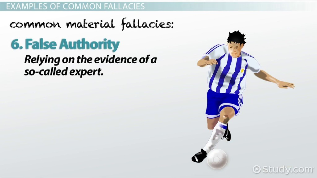 Logical Fallacy Definition & Examples Video & Lesson