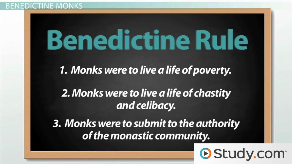Monasticism from St Benedict to Cluny  Video  Lesson