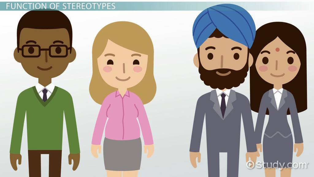 What Is A Stereotype? Definition Function & Formation