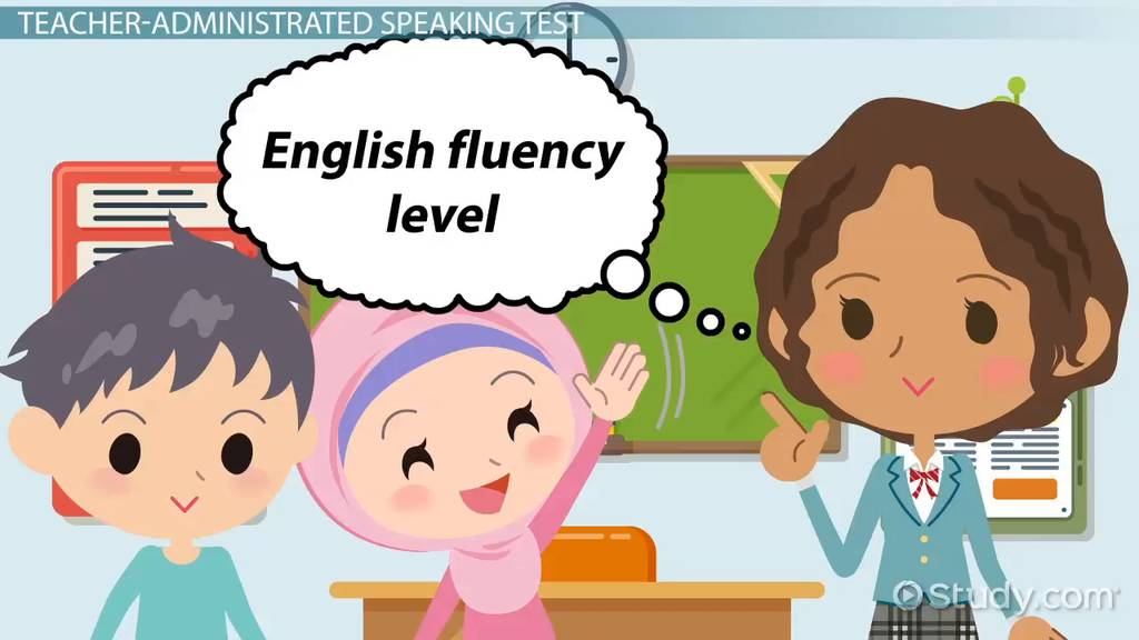 Speaking Test Sample Questions For ESL Students Video