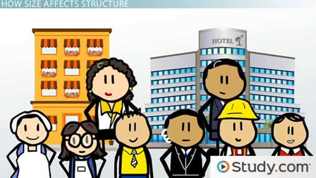 Organizational Size Impacts On Structure And Design Of An