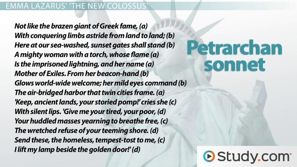 Petrarchan Sonnet Rhyme Scheme Format & Example Poems