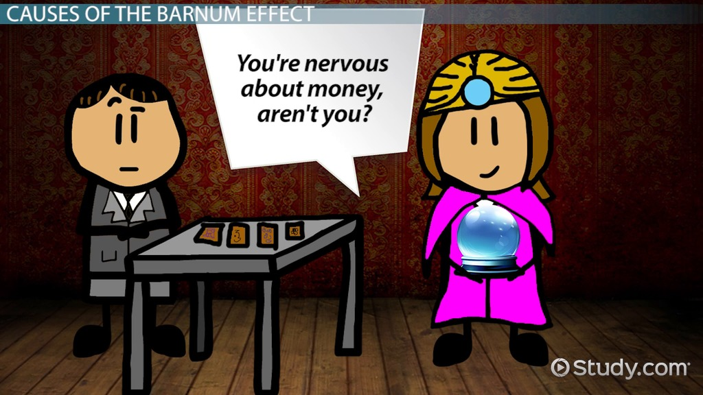 The Barnum Effect In Psychology Video & Lesson
