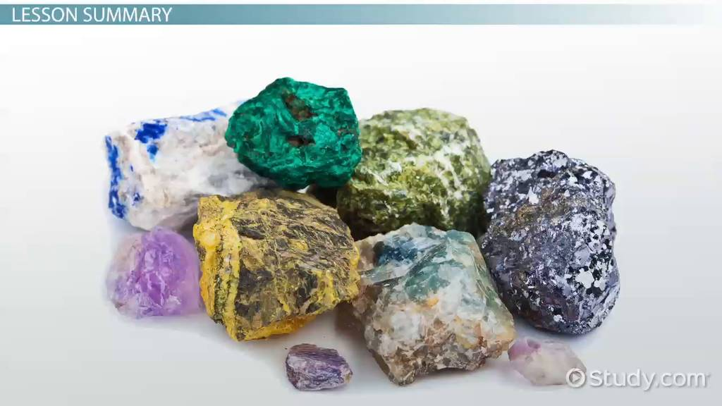 Common Minerals & Their Uses Video & Lesson Transcript