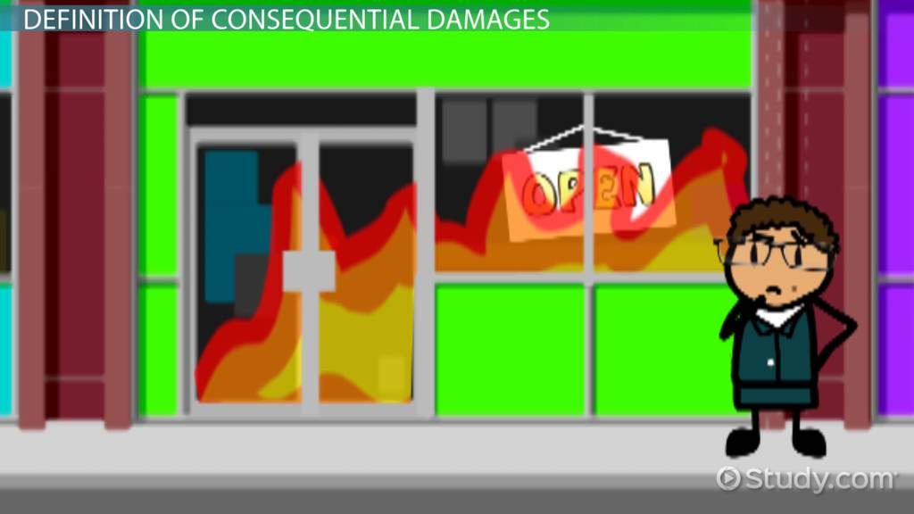 Consequential Damages Definition Clause  Examples