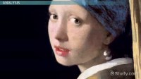 The Girl with a Pearl Earring by Vermeer: Painting