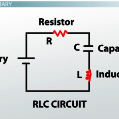 Physics Energy Flow Diagram Wiring For A 7 Pin Trailer Plug R-l-c Series Circuits - Video & Lesson Transcript | Study.com