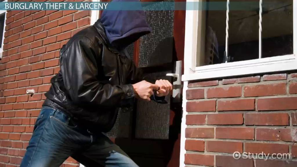 Property Crime Definition Types & Statistics Video