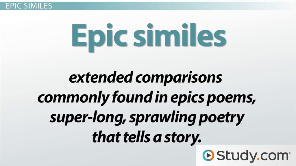 Similes In Literature Definition And Examples Video