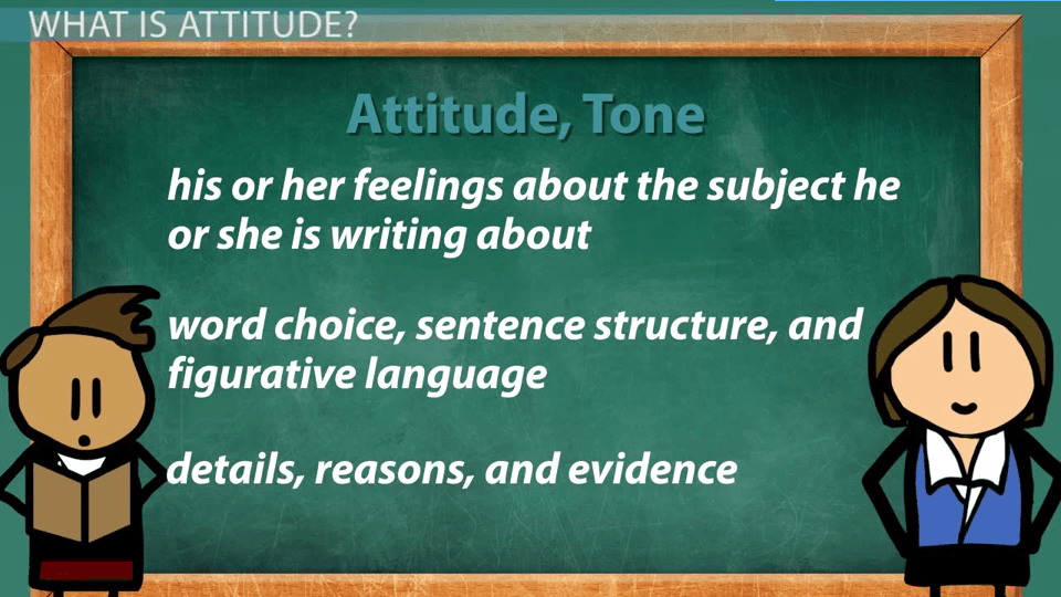 How To Recognize Attitude Expressed By The Author Towards