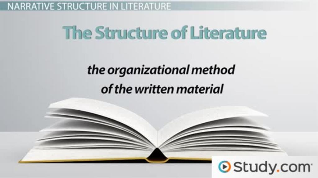 Structure In Literature Definition & Examples Video