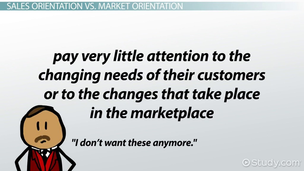 Sales Orientation Definition & Examples Video & Lesson