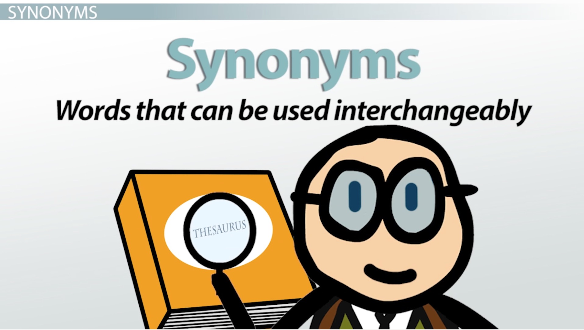 hight resolution of What Are Synonyms \u0026 Antonyms? - Definition \u0026 Examples - English Class  (Video)   Study.com