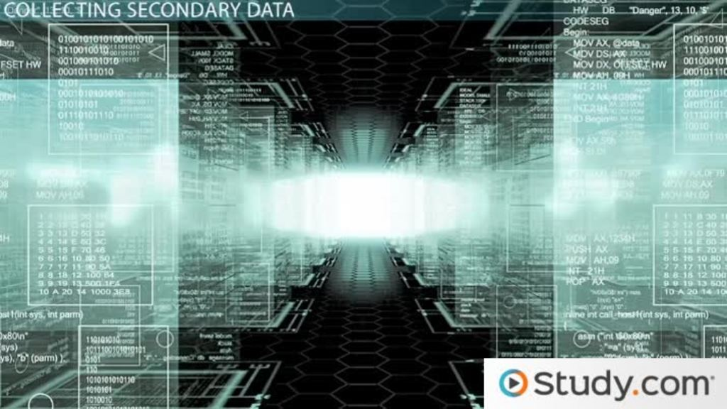 Secondary Data In Marketing Research Definition Sources