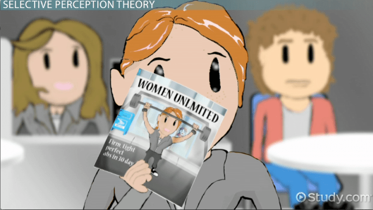 Selective Perception Theory & Examples Video & Lesson