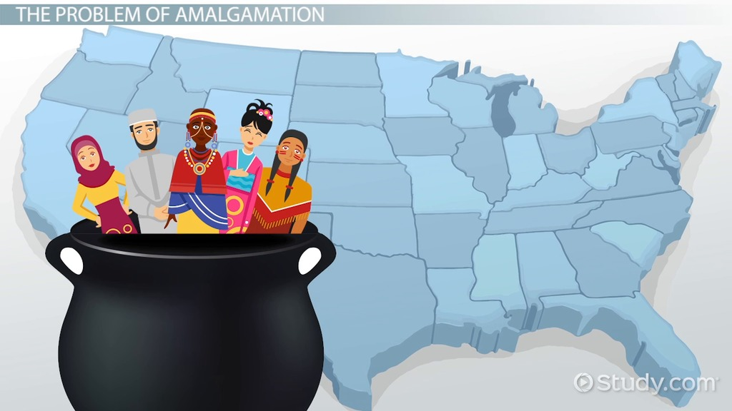 What Is Cultural Amalgamation? Video & Lesson Transcript