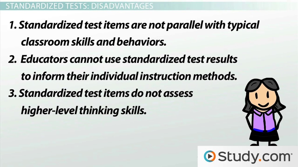 Standardized Tests In Education Advantages And