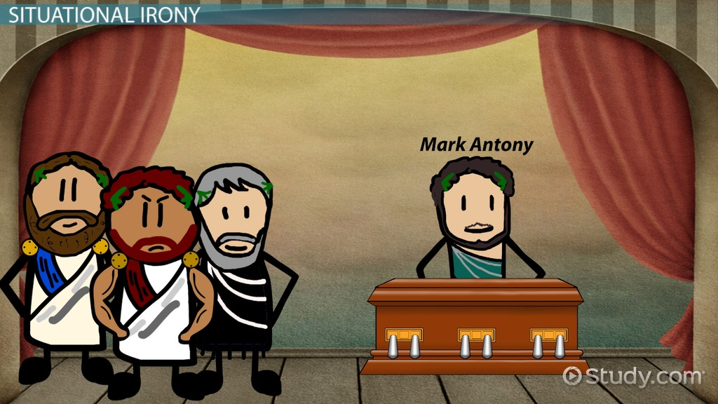 Irony In Julius Caesar Examples & Analysis Video