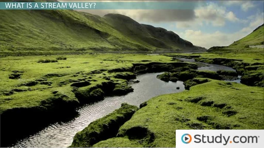 The Formation Of Stream Valleys Video & Lesson