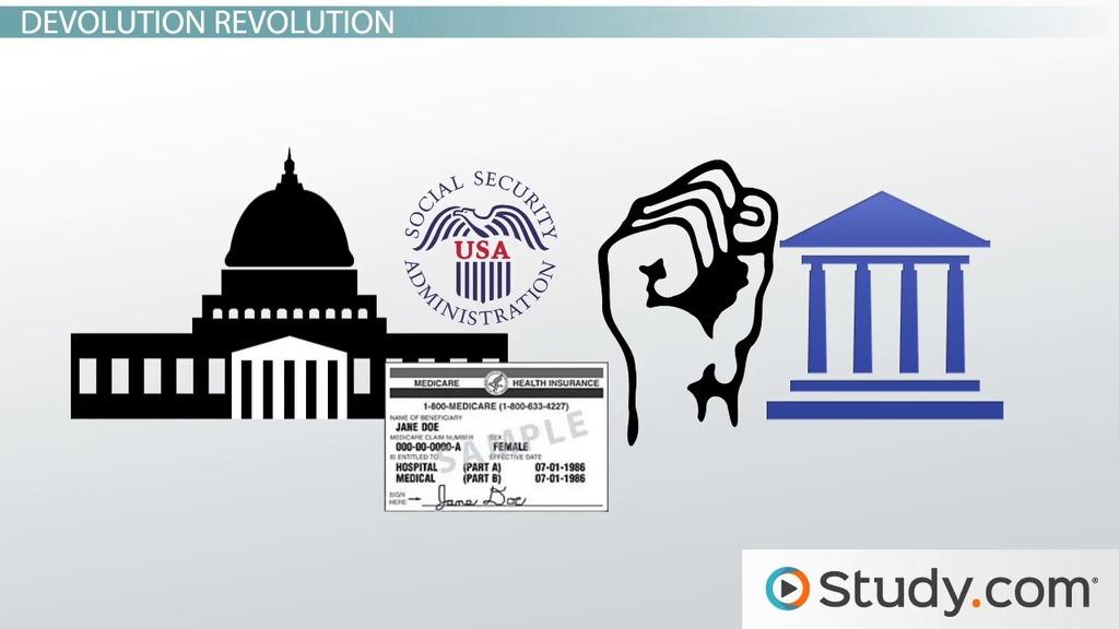 Devolution Definition & Examples Video & Lesson