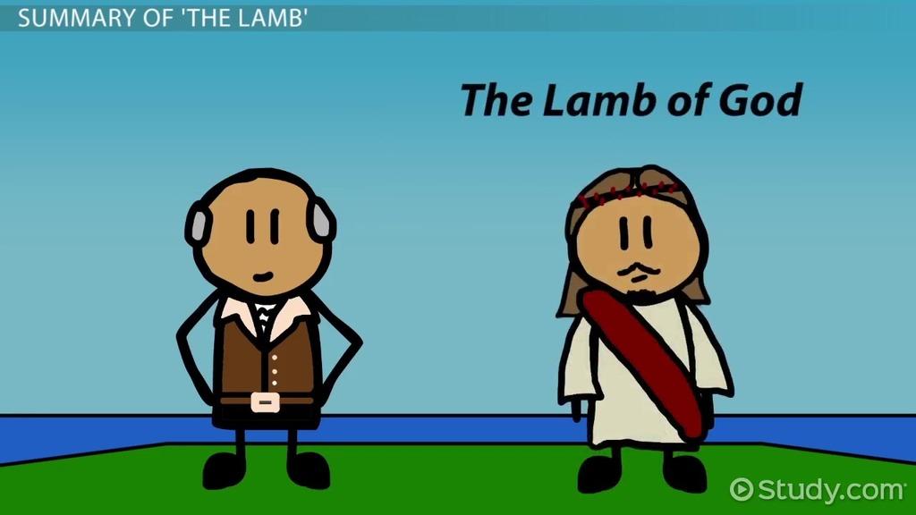 The Lamb By William Blake Summary Theme & Poem Analysis Video