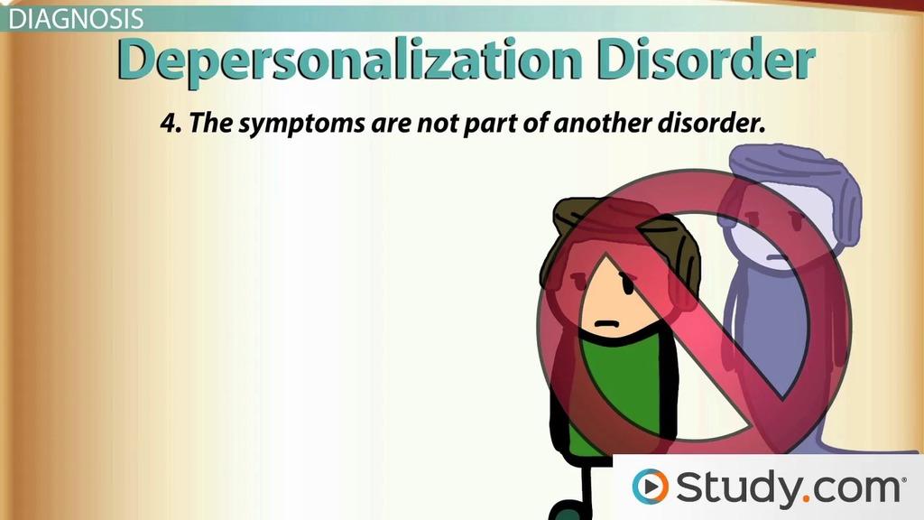 Dissociative Depersonalization Disorder Definition