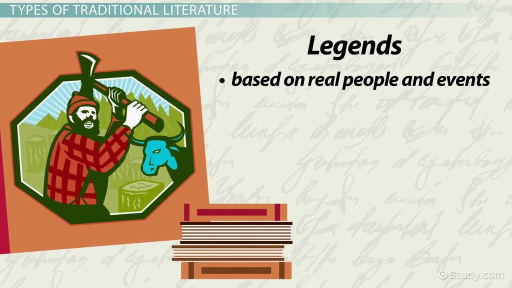 Traditional Literature Definition Characters Types